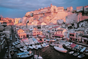 Marsiglia, il Vieux-Port.