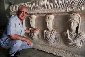 Khaled Asaad, per 40 anni a capo del Dipartimento delle Antichità della Siria.